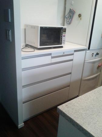 T邸家具(キッチン背面収納)工事