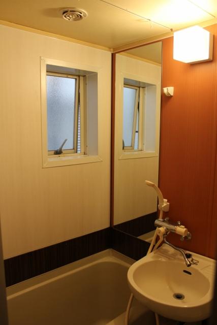 フルールN 浴室フィルム工事(オリエンタルテイスト)
