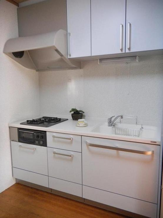 A邸キッチン工事