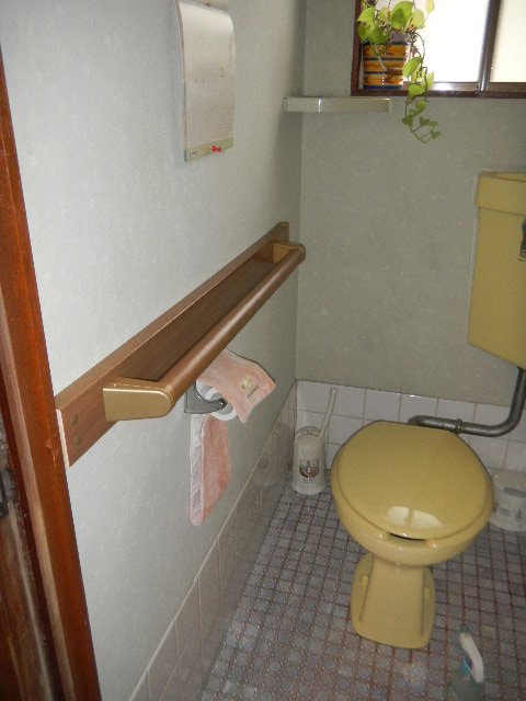R邸 トイレ手摺設置工事