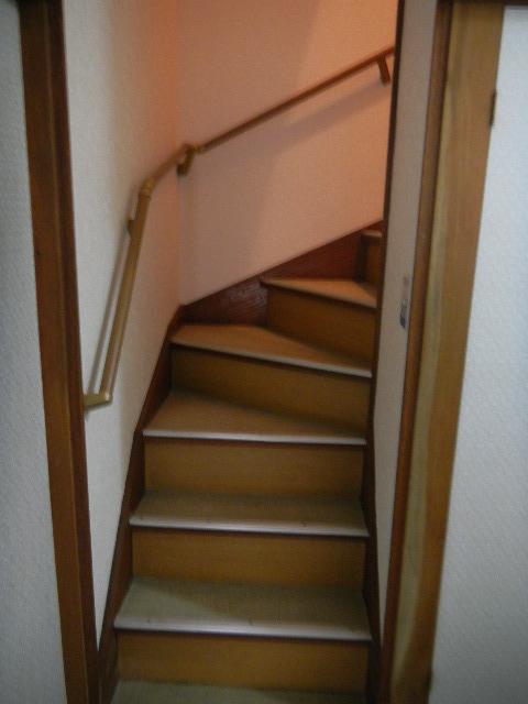 K邸 階段手摺設置工事