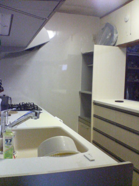 F様邸 キッチン工事